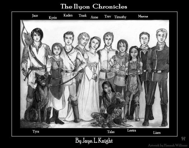 Ilyon Chronicle Characters