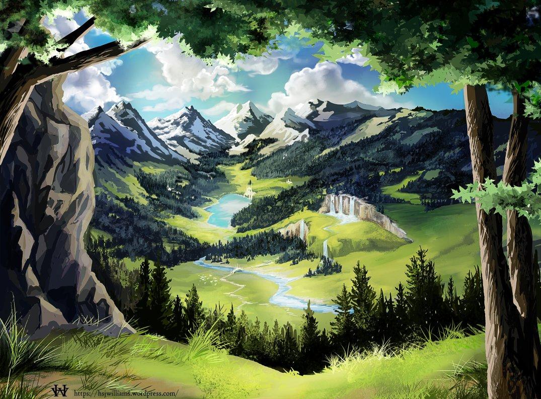 Landscape Aselvia